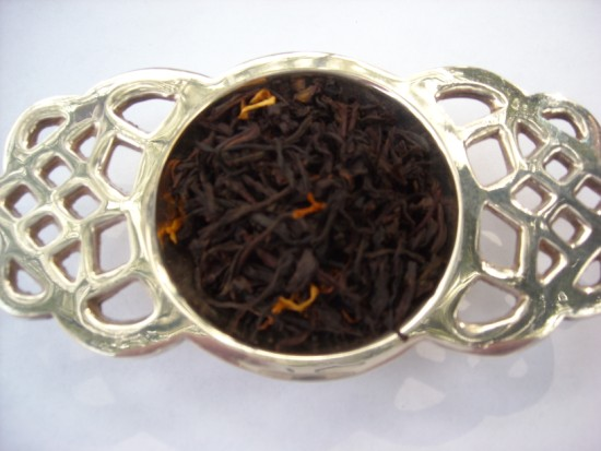 Hazelnut  Black Tea - Rich creamy flavor of roasted hazlenuts makes this a very special tea.