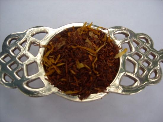 Bourbon Street Vanilla Rooibos Tea - The cinnamon spice flavoring gives this tea a wonderful vanilla n' jazz character.