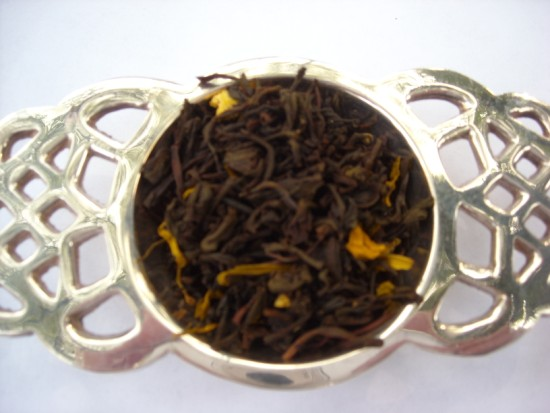 Grand Marnier Black Tea - All the flavor of a delicious orange liqueur combined with the goodness of tea.  Excellent after dinner!